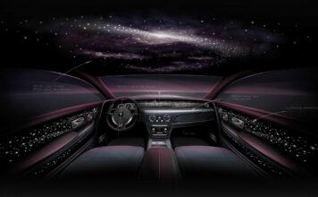 I en Rolls-Royce Phantom Tempus tar du steget inn i universet, og tiden står stille. (Fotos: Rolls-Royce)