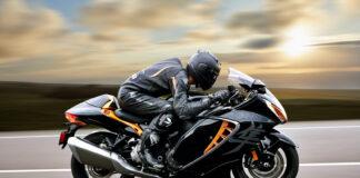 Suzuki har klar en ny generasjon av sykkelen som introduserte et helt nytt segment, Hayabusa. (Fotos: Suzuki)