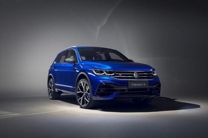 Det er et nytt overhode i Tiguan-familien, nemlig en R-versjon. (Fotos: Volkswagen)
