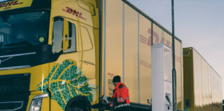 Volvo skal kjøre et prosjekt sammen med DHL som inkluderer elektriske vogntog på opp mot 60 tonn. (Fotos: Volvo)