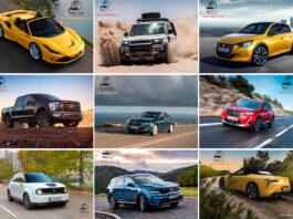 Her er de ni kategorivinnerne i årets bil for kvinnene. (Fotos: WWCOTY)