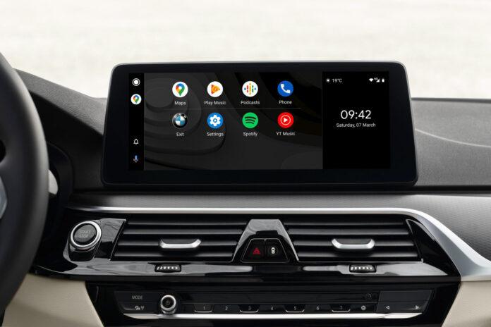Endelig lanseres Android Auto offisielt her i Norge, noe mange bilførere nok setter pris på. Også de som kjører en BMW, for dette er et av mange merker som støtter dette. (Foto: BMW)