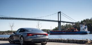 Audi har på gang en sportslig utgave i e-tron-serien som er kalt e-tron GT. (Foto: Nybiltester/SB Automotive)