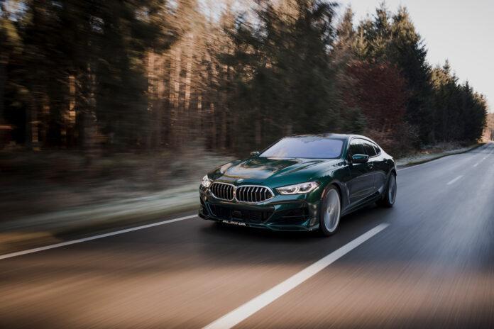 Alpina har nå kastet seg over BMW 8-serie Gran Coupé, og ut av det hele har det kommet noe ganske så imponerende. (Fotos: BMW/Alpina)