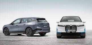 BMW iX kommer til høsten, og da både som iX xDrive40 og iX xDrive50. (Fotos: BMW)