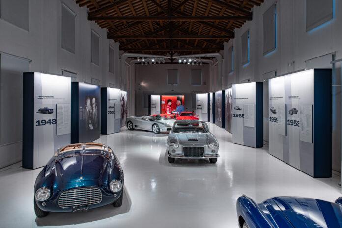 Ferrari hyller nå 100 -årsdagen til Gianni Agnelli med å vise fram en rekke unike biler. (Fotos: Ferrari)