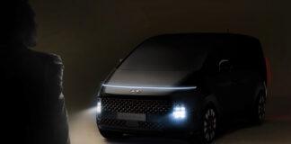 Hyundai viser fram en ny flerbruksbil kalt Staria. (Fotos: Hyundai)