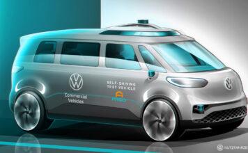 Volkswagen sier at de vil ha selvkjørende minibusser på veiene i 2025. (Fotos: Volkswagen)