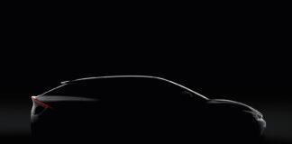 Bak skyggen skjuler det seg en helt ny elbil fra Kia kalt EV6, den første rene elbilmodellen til det sørkoreanske merket. (Fotos: Kia)