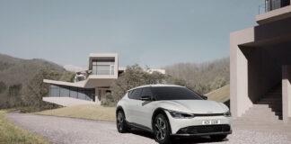 Kia viser nå fram designet til EV6, den første rene elbilmodellen til merket. (Fotos: Kia)
