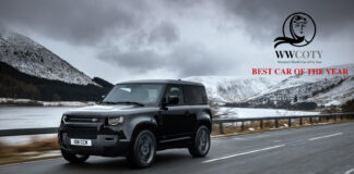 8. mars avduket Women's World Car of The Year årets bil, og det ble en allerede mye prisbelønt bil ‒ Land Rover Defender. (Fotos: Women's World Car of The Year)