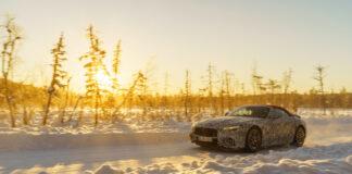 Mercedes-AMG tester nå den 8. generasjonen av den berømte roadsteren kun kalt SL. (Fotos: Daimler)