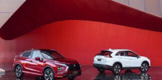 Mitsubishi Eclipse Cross PHEV får i 2023 besøk av to Renault-baserte modeller. (Fotos: Mitsubishi)