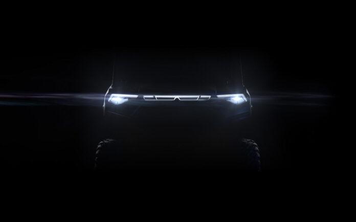 Denne er kjøretøyet som brøyter vei for en ny elektrisk framtid for Polaris, en ny elektrisk utgave av Ranger. (Fotos: Polaris)