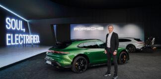 Porsche er inne i en grønn bølge, og skal ha balanse i sitt karbonregnskap allerede innen 2030. (Foto: Porsche)