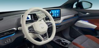 Volkswagen har nå klar programvare som åpner for automatiske oppdateringer, såkalt OTA. Her fra innsiden til Volkswagen ID.4. (Fotos: VW)