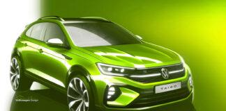 Volkswagen kommer med en ny SUV kalt Taigo senere i Europa. (Fotos: Volkswagen)
