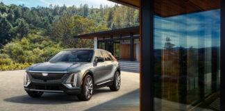 Cadillac Lyriq er en ny elbil som faktisk ligger foran sitt eget skjema. (Fotos: Cadillac)