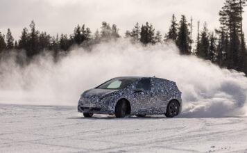 Cupra Born nærmer seg nå premiere, og spanjolene har luftet bilen i iskalde -30 grader i Nord-Sverige. (Fotos: Cupra)