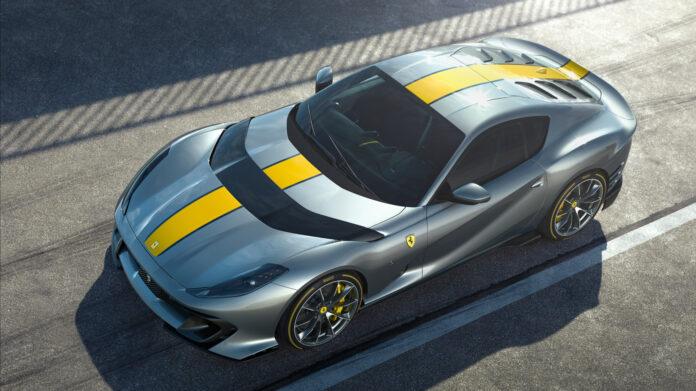 Dette er en ny spesialutgave av den ultraville Ferrari 812 Superfast. (Fotos: Ferrari)