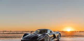 Blir Hennessey Venom F5 den første serieproduserte bilen som bryter drømmegrensen på 500 km/t? (Fotos: Hennessey)