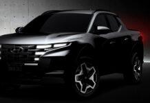 Hyundai kommer snart med en ny bil kalt Santa Cruz. Og det er en pickup, ikke sant? (Foto: Hyundai)