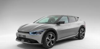 Kia kommende elbil EV6 bikker godt under en halv million kroner, men det er for den rimeligste utgaven. (Fotos: Kia)