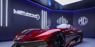 MG Cyberster vises nå fram under Auto Shanghai, og bør tiltrekke seg en del oppmerksomhet. (Fotos: MG)