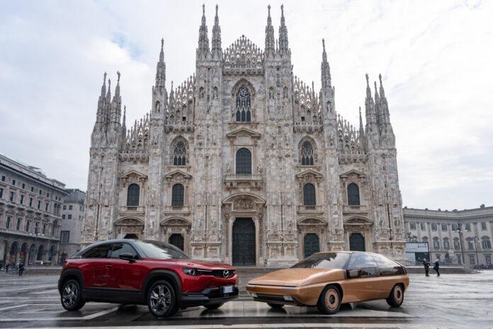 Syns du det er litt italiensk over linjene til enkelte Mazda-modeller? Det er ikke så rart! (Fotos: Mazda)