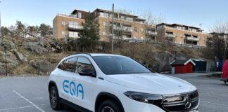 Vi tror at mange kommer til å trives med en Mercedes EQA. (Fotos: Nybiltester)