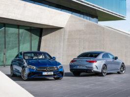 Mercedes har gitt CLS en ny oppdatering, både på ut- og innsiden. (Fotos: Mercedes)
