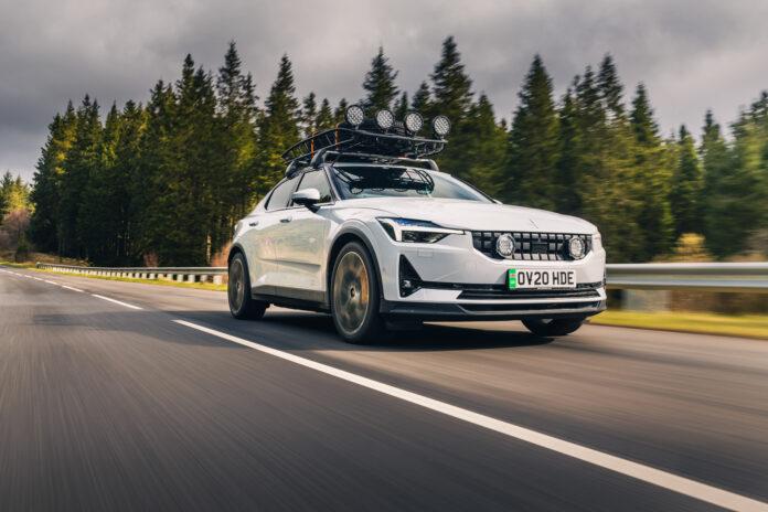 Top Gear har kåret sine beste elbiler for 2021, og denne spesielle Polestar 2 fikk en pris. (Foto: Polestar)