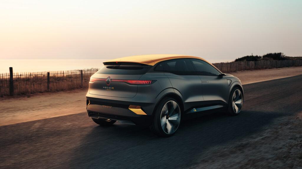 Dette er konseptet Renault Megane-E Vision.