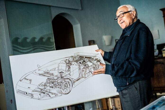 Romano Artioli er mannen som blåste liv i Bugatti på midten av 1980-tallet. (Fotos: Bugatti)