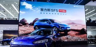 Huawei har bidratt mye under utviklingen av Seres SF5, og skal like godt selge slike selv også. (Foto: Huawei)
