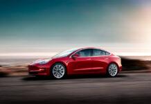 Tesla hadde den klart mest registrerte bilen i mars med Model 3. (Fotos: Tesla)