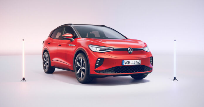 Volkswagen har klar en ny utgave av den ferske elbilen ID.4, og nå handler det om det første GT-bilen til den elektriske ID-familien. (Fotos: Volkswagen)