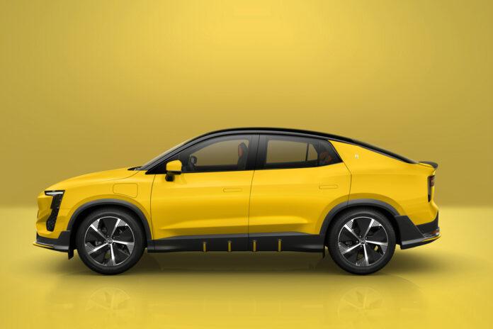 Aiways viser nå fram sin andre produksjonsmodell, en mer coupéformet SUV kalt U6. (Fotos: Aiways)