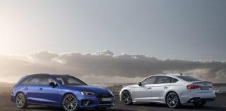 Audi introduserer nå en «competition»-pakke til fem modeller. (Fotos: Audi)