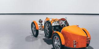 De to første Buagtti Baby II er nå levert kundene. (Fotos: Bugatti)