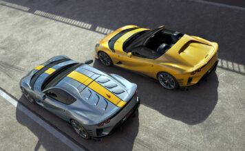 Ferrari har ikke bare klar en spesialutgave av 812 Superfast, men faktisk to. (Fotos: Ferrari)