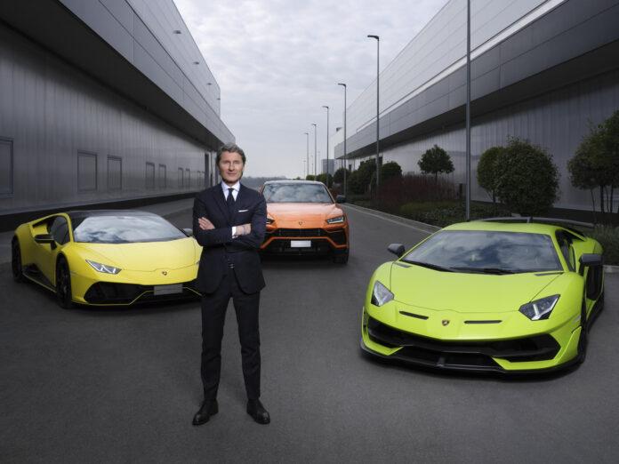 Lamborghini skal komme med sin første elbil i løpet av siste halvdel av 2020-tallet. (Fotos: Lamborghini)