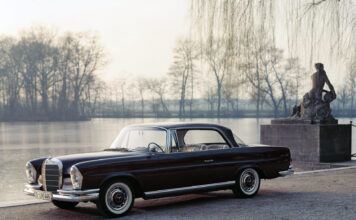 Mercedes-Benz 220 SE Coupé (W 111). For en klassiker! (Fotos: Mercedes)
