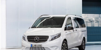 Mercedes Norge har nå klar eVito Tourer Long Range med strekker ut rekkevidden. (Fotos: Mercedes)
