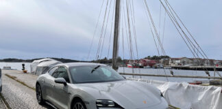 Porsche Taycan Base er en lekker, morsom og sportslig elbil. (Fotos: Nybiltester)