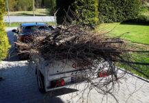 Det er viktig å sikre avfallet i hengeren skikkelig. (Foto: NAF)