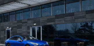 Toyota skal levere 100 Mirai som skal brukes av Norgestaxi i Oslo. (Fotos: Toyota)
