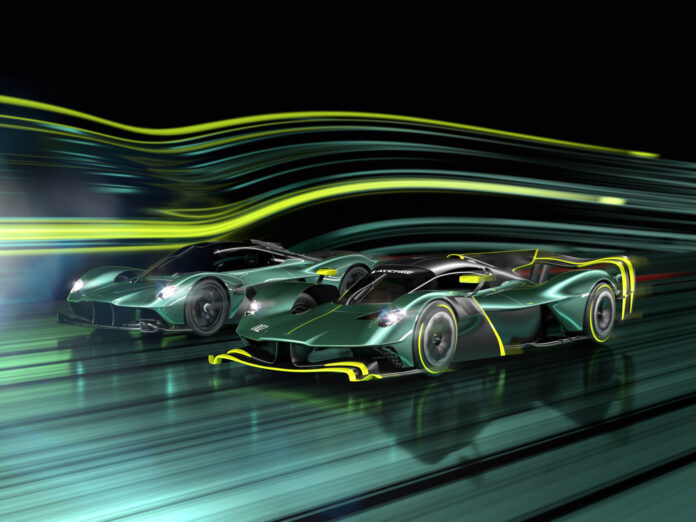 Aston Martin skal lage 40 baneversjoner av Valkyrie, denne elleville hyperbilen. (Fotos: Aston Martin)