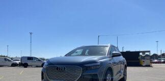 De første eksemplarene av Audis potensielle storselger Q4 e-tron er allerede på plass i Norge. (Fotos: Audi Norge)