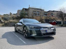 Audi e-tron GT imponerte testeren, som helst ikke ville levere den tilbake. (Fotos: Nybiltester)